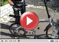 Sykkel, sammenleggbar