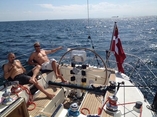 Så fixade vi en kyl på båten