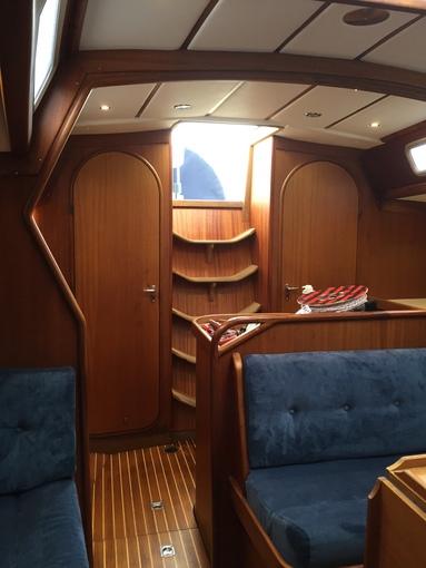 Nyt elpanel & renovering af finer på X-402 bådprojektet