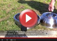 SAfire - transportabel grill
