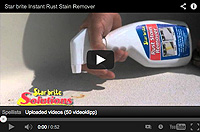 Starbrite - Rust stain remover