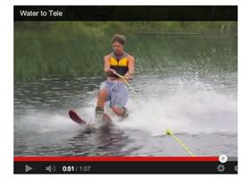 Telemark på vattnet! Går det?