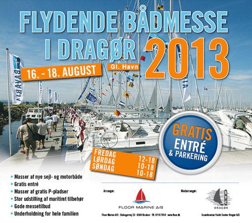 Velkommen til flydende bådmesse i Dragør