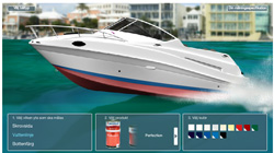Färgsätt din båt