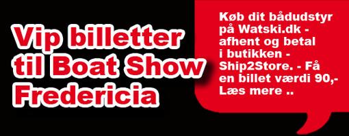 Køb dit bådudstyr på Watski.dk - Få en VIP billet til Boat Show